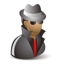 Spy icon vector image vector image