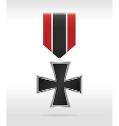 Medal cross vector