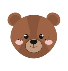 Bear animal cartoon vector