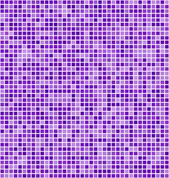 Purple square pixel mosaic background vector