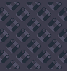 pattern with abstract figures vector image