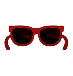 fashion sunglasses isolated icon vector image