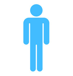 Man sign human icon men symbol vector