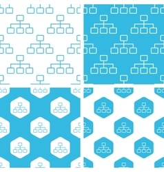 Scheme patterns set vector