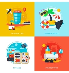 Travel design concept vector