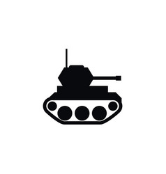isolated military icon battle element can vector image