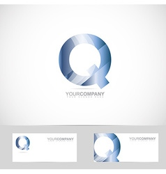 Letter Q logo vector image vector image