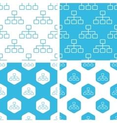 Scheme patterns set vector