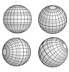 Original globe vector image
