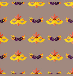 Authentic seamless pattern venetian painted vector
