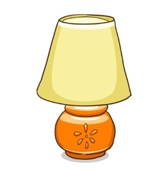 lamp vector image