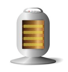 Realistic Halogen radiator vector image vector image