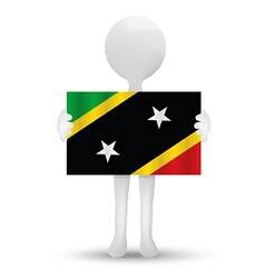 Saint kitts and nevis vector