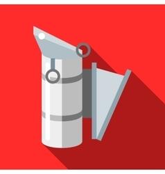 Beekeeping smoker icon flat style vector