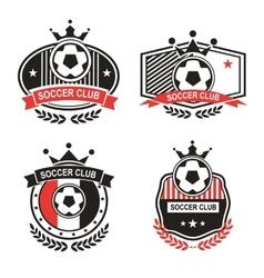 Sport emblems vector image vector image