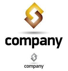 Corporate logo design template vector