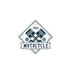 Badges motorcycle collections vector