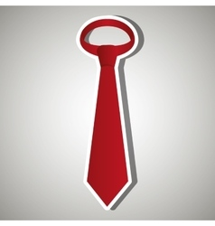 Tie isolated design vector
