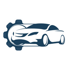 car repair vector image