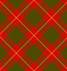 Clan cameron tartan diagonal seamless background vector