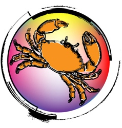 Crawfish vector image
