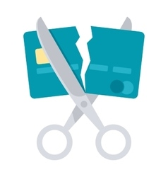 Debt Free Icon vector image