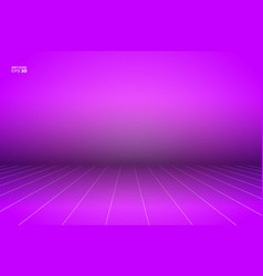 empty photo studio realistic 3d template vector image