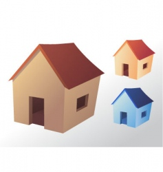 house icon vector image vector image