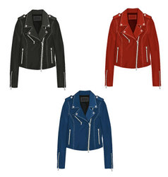 Leather Jacket vector image