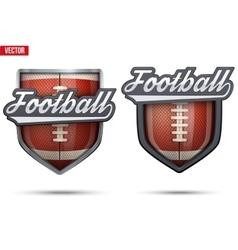 Premium symbols of US Football Tag vector image