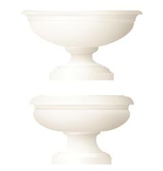 classic style decorative vase vector image