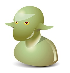 Goblin icon vector