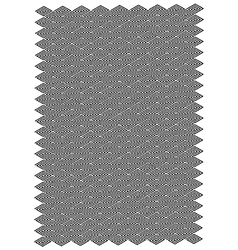 Spiral diamond block pattern vector