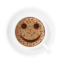 coffee crema 03 vector image