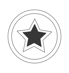 Sign and symbol star stamp vector