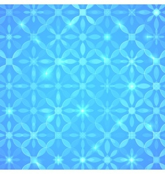 Blue abstract shining background vector image vector image