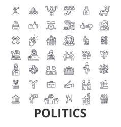 Politics politician vote election campaign vector
