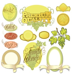 Wine calligraphy 380 vector
