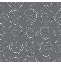 Seamless background with rounds vector image