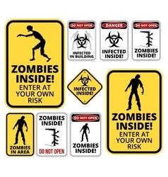 Zombie inside vector