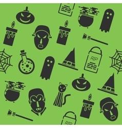 Halloween collage vector