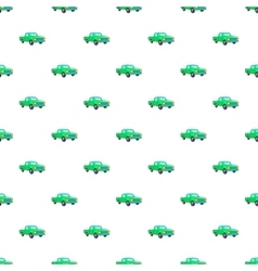 Pickup pattern cartoon style vector
