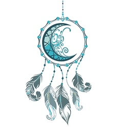Indian dream catcher vector