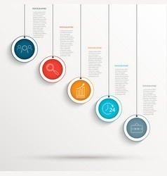 Abstract business background -infografika with vector