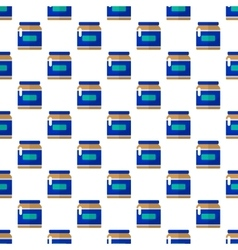Jar pattern seamless vector image