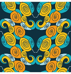 Seamless abstract symmetry pattern vector image