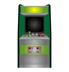 vintage arcade vector image vector image