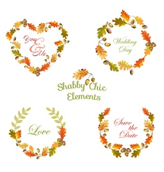 Floral tags labels and banners - for t-shirt vector