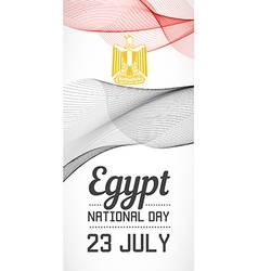 National day vertical banner of the country in vector