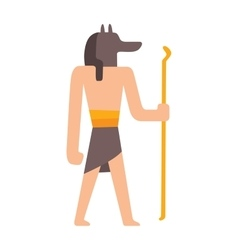 Traditional symbols egypt people vector